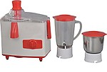 Brightflame Cherry 450-Watt Juicer Mixer Grinder