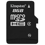 Kingston SD 8 GB Class 4 Memory Card