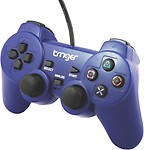 Trriger PS2 Controller Gamepad (Red, For PS2)