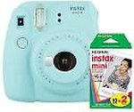 Fujifilm Instax Mini 9 Ice with 20 Shots film Instant Camera