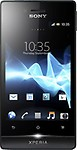Sony Xperia Miro Android Mobile Phone - Black