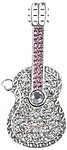 Microware 16GB Silver Metal Guitar ShMicroware Designer Pendrive