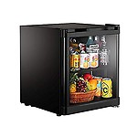 Kitchoff HY50 50 L Aluminium and Glass Direct Cool Standard Single Door Mini Refrigerator