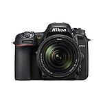 Nikon D7500 (with AF-S NIKKOR 18-140mm VR Lens) 20.9 MP DSLR Camera with 16GB SD card