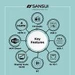Sansui 138cm (55 inch) Ultra HD (4K) QLED Smart TV(JSC55LSQLED)
