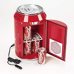 Generic Portable Mini Fridge/Refrigerator Can-Shaped Cooler Warmer Food Drink for Home (11L)