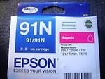 Epson 91N Magenta Ink Cartridge