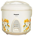 Panasonic SR-KA22A (R) 2.2-Litre 745-Watt Automatic-Jar Rice Cooker