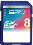 SiliconPower 8 GB SDHC Class 4 Memory Card