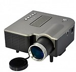 Wonder World Mini Video TFT LCD Metal Buttons And Lens Edge 40 lm LED Corded Portable Projector