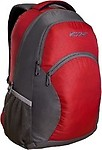 Wildcraft Laptop Backpack (Red & Grey) - 8903338009139
