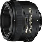 Nikon AF-S NIKKOR 50mm F/1.4G Lens (Standard Lens)