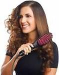 Shreeji simply straight brush Simply Straight Ceramic Brush Hair Straightener fs-01 Hair Straightener Brush