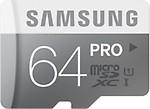 Samsung MicroSDXC 64 GB Class 10 Pro