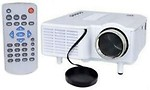 Shrih 48 lm LED Corded Portable Projector