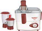 Maharaja Whiteline Real JX-102 450 W Juicer Mixer Grinder 2 Jars