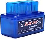 Gadget Hero's Torque SuperMini ELM 327 v2.1 tooth EOBD 2 CAN-BUS OBD2 Car OBD Reader