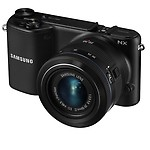 """Samsung NX2000 20.3MP CMOS Smart WiFi Compact Interchangeable Lens Digital Camera with 20-50mm Lens and 3.7"""" Touch Screen LCD"""