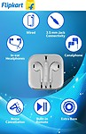 Animate Extra Bass Stereo Earphone Wired Headphones