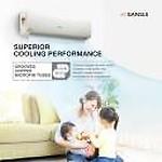 Sansui 1 Ton 5 Star Split Inverter AC(SAC105SIAEXT_MPS, Copper Condenser)
