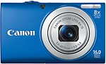 Canon PowerShot A4000 IS Point & Shoot Camera