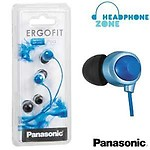 Panasonic HJE180 InEar Earphones (Blue)
