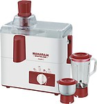 Maharaja Whiteline JX-100 450 Juicer Mixer Grinder 2 Jars
