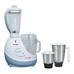 Singer Foodista Plus 600 W Juicer Mixer Grinder(3 Jars)