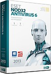 Eset NOD32 Anti Virus Version 6 1 PC 1 Year