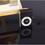 Lehza Mp3 Audio Music Player with Micro Sd Tf Card Support and Collar Clip Design with Built-in Rechargeable Battery 32 GB MP3 Player