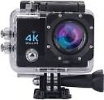 Suroskie Action camera 4K Ultra HD 16 MP WiFi Waterproof Sports and Action Camera( 16 MP)
