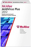Mcafee Antivirus Plus 2012 (Red, 1 User)