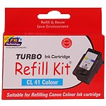 Turbo Refill Kit For Canon 41 Colour Ink Cartridge
