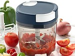 Mitron 1000 ml Handy Quick New Chopper Vegetable Fruit Nut Onion Cutter for Kitchen