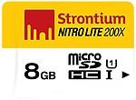 Strontium Nitro Lite 8GB Secure Digital Class-10 Memory Card