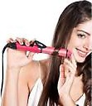 RamX 2-in-1 Ceramic Plate Essential Combo Beauty Set of Hair Straightener Hair Straightener