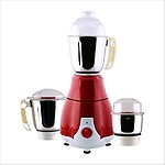 ANJALIMIX MIXER GRINDER PEARL RED 750W WITH 3 JARS