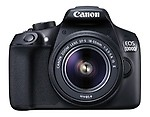 Canon EOS 1300D 18MP Digital SLR Camera with 18-55mm ISII Lens, 16GB Card and Carry Case