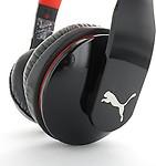 Puma Pmad6010-Blk Vortice Over-Ear Headphone And Mic Headphones