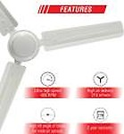Usha Racer 1200MM Ultra High Speed 400RPM Ceiling Fan Ivory W/O REG
