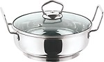 Vinod Cookware 3.4 Litres Induction friendly Stainless Steel Kadai