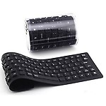 Futaba USB Mini Flexible Silicone Keyboard for Notebook