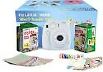 Fujifilm Instax Mini 9 Smoky Festival Pack Instant Camera