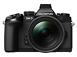 Olympus OM-D EM-1 Compact System Camera (16.3MP, Live MOS, M.Zuiko 12-40mm Lens) 3.0 inch Tiltable Touch Screen LCD
