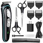 JENYSHOP Electric Hair Trimmer Beard Trimmer Kit for Kid and Adults Suitable for Home Daily Use Comes