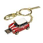 Quace Cool Red Metal Car 64GB USB Pen Drive