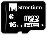 Strontium MicroSDHC 16 GB Class 10 Memory Card (Pack Of 2)