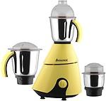 Anjalimix Insta Yellow 750 Watts 750 W Mixer Grinder(3 Jars)