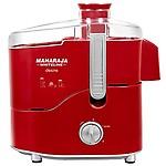 Maharaja Whiteline Desire Red Treasure 550-Watt Juicer Mixer Grinder (Red/)