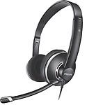 Philips SHM7410U Wired Headset (Black)